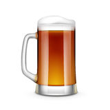 Beer Glass Vector Illustration  Stock Image