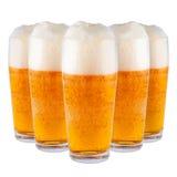 Beer in glasses. Stock Photo