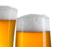 Beer in a glasses Stock Photo