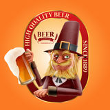 Beer goblin Royalty Free Stock Image