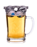 Beer googles. Studio cut out Stock Image
