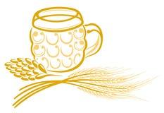 Beer, grain Stock Photography