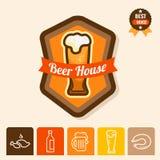 Beer house logo Stock Photo