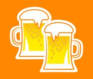 Beer icon Stock Photos