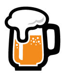 Beer icon. This is file of EPS10 format Royalty Free Stock Photos