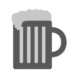 Beer Icon in trendy flat style. Isolated on white background. Vector illustration, EPS10 Stock Images