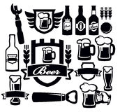 Beer icon Stock Image