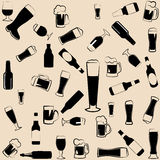 Beer icons,symbols and elements Royalty Free Stock Image