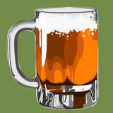 Beer illustration  Royalty Free Stock Photo