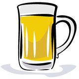 Beer illustration Royalty Free Stock Photography