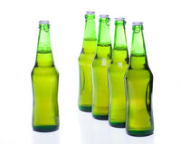 Beer In A Bottle Royalty Free Stock Photography