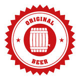 Beer industry design Stock Photos