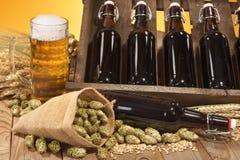 Beer ingredients Royalty Free Stock Photo