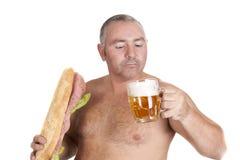 Beer jar Royalty Free Stock Images