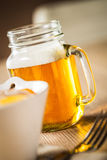 Beer jar Stock Photography