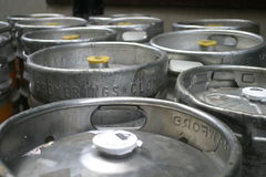 Beer Kegs Royalty Free Stock Photography