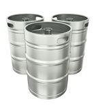 Beer kegs Stock Photo