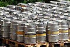 Beer kegs Stock Image
