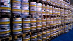 Beer kegs royalty free stock photo
