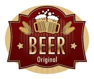 Free Beer Label Royalty Free Stock Photography - 19399447