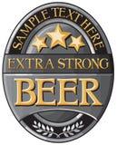 Beer label design Stock Photo