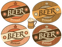 Beer label Royalty Free Stock Photos