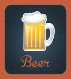 Beer label Stock Photo