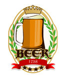 Beer label Stock Photos