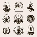 Beer labels set. Vector. Illustration vector illustration