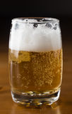 Beer with lights Stock Image
