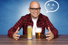 Beer lover Royalty Free Stock Photos