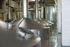 Beer-making unit Royalty Free Stock Photo