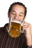 Beer Man Stock Photo