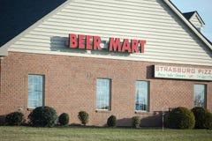 Beer mart store. Philadelphia, Pennsylvania, March 3 2018: beer mart store Stock Photos