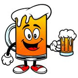Beer Mascot with Beer Stock Images