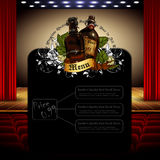 Beer menu Stock Images