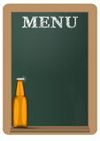 Beer menu Stock Image