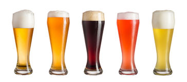 Beer mix royalty free stock photos