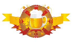 Beer mug Royalty Free Stock Images