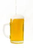 Beer mug. On a white background Stock Photo