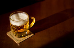 Beer mug Royalty Free Stock Photography