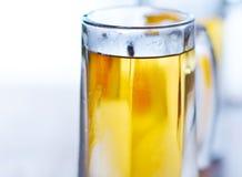 Beer mug close up royalty free stock image