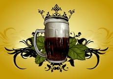 Beer mug decorative Stock Image