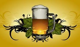 Beer mug decorative Stock Photos