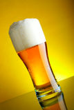 Beer mug with froth Royalty Free Stock Photo
