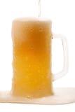 Beer mug full Stock Images