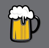 Beer mug icon Royalty Free Stock Images