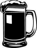 Beer Mug Illustration Royalty Free Stock Photography