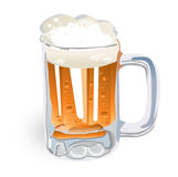 Beer Mug (illustration) Royalty Free Stock Photos