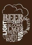 Beer mug image Stock Images